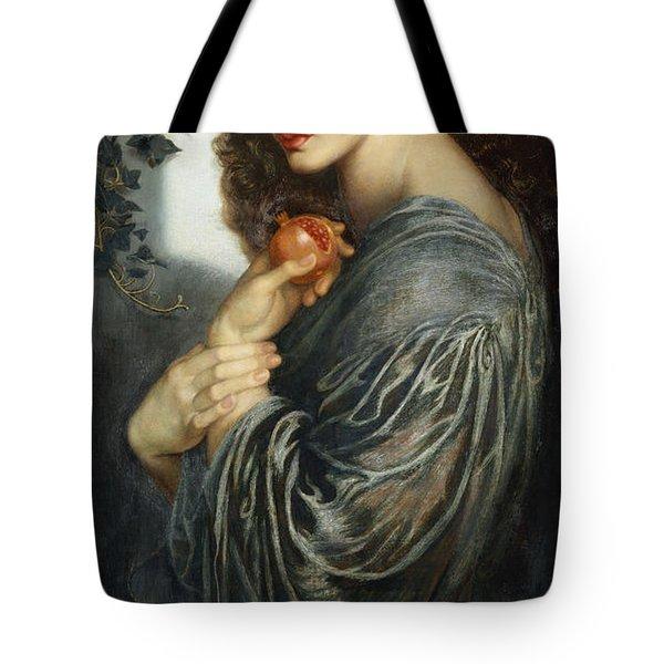 Proserpine Tote Bag by Dante Charles Gabriel Rossetti