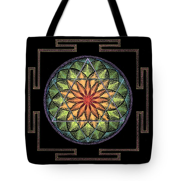 Tote Bag featuring the painting Prosperity by Keiko Katsuta