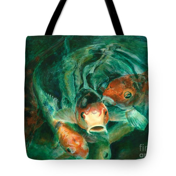 Prosperity Koi Tote Bag