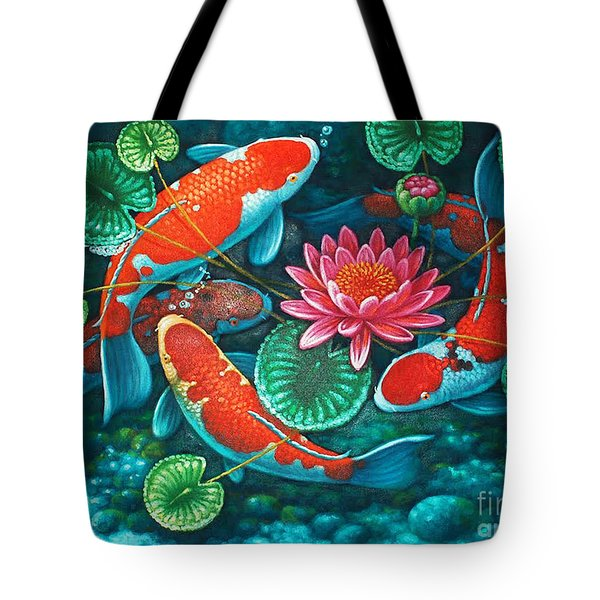 Prosperity Pond Tote Bag