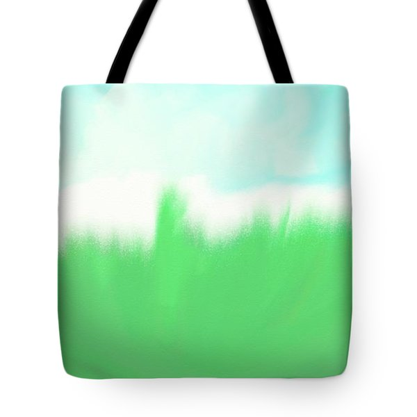 Tote Bag featuring the painting Prosperity by Shalindi Wijayathunga