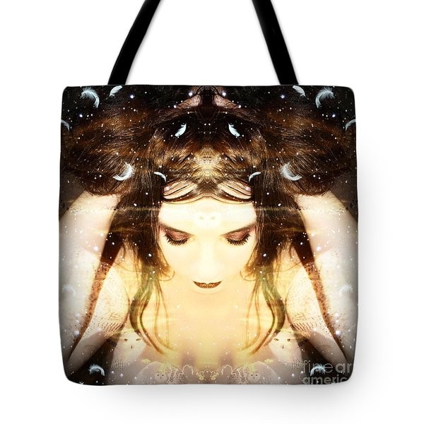 Protected Within Tote Bag by Heather King