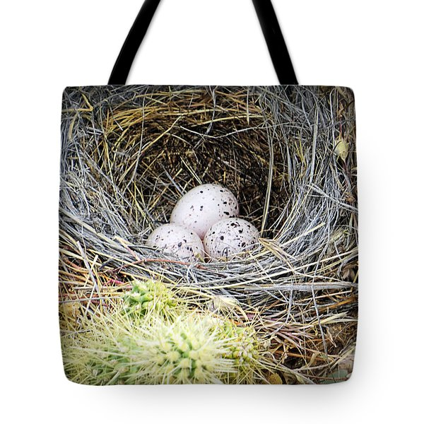 Protection By Cholla Tote Bag