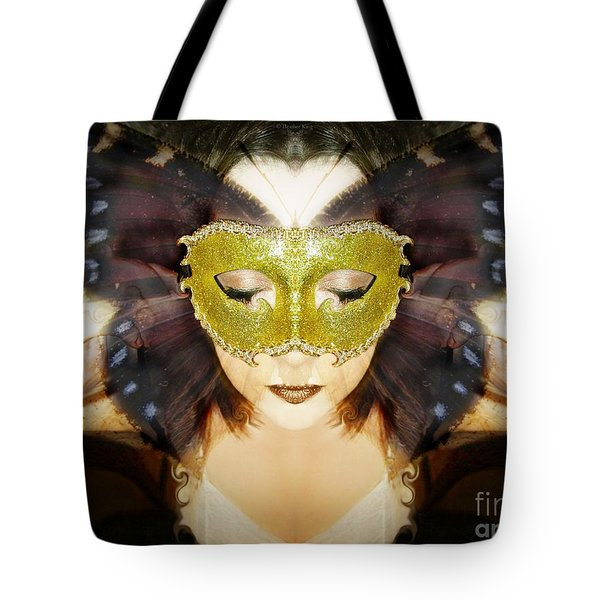 Protection Tote Bag by Heather King