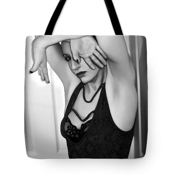 Protection - Self Portrait Tote Bag by Jaeda DeWalt