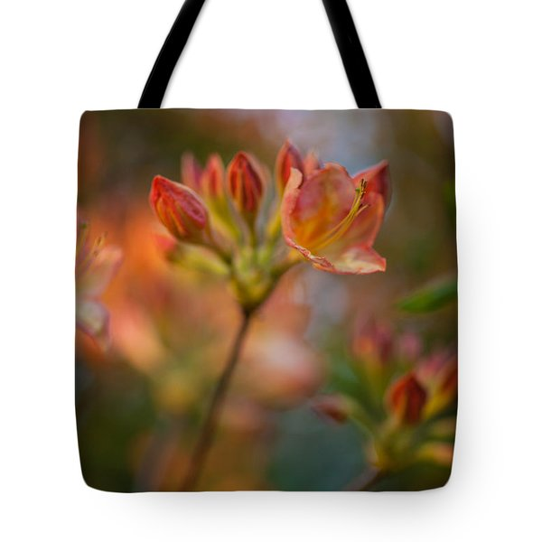 Proud Orange Blossoms Tote Bag by Mike Reid