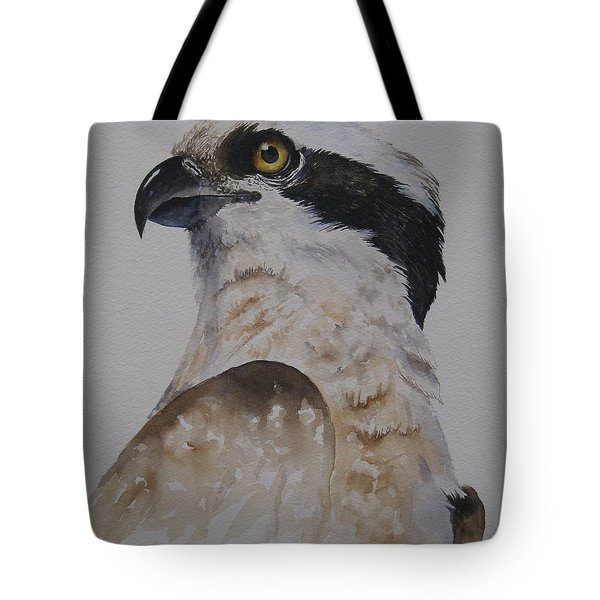Proud Osprey Tote Bag by Mary McCullah