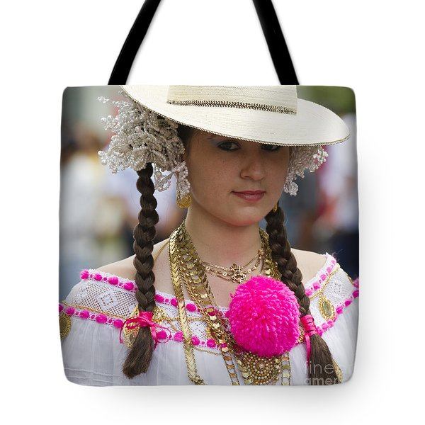 Proud Panama Lady  Tote Bag by Heiko Koehrer-Wagner