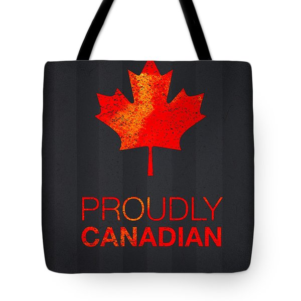 Proudly Canadian Tote Bag