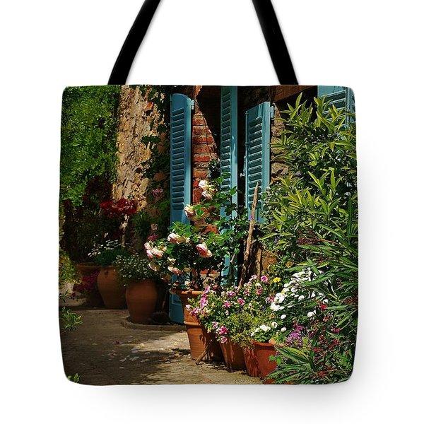 Provencal Alley Tote Bag