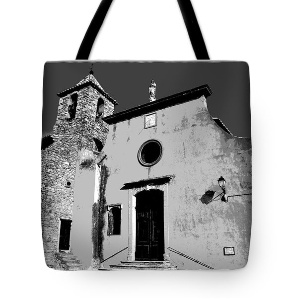 Provencal Church  Tote Bag by Dany Lison