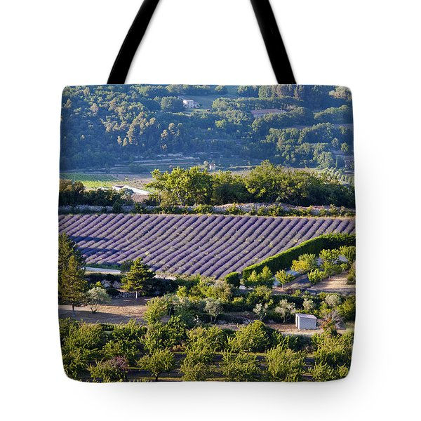 Provence Farmland Tote Bag by Bob Phillips