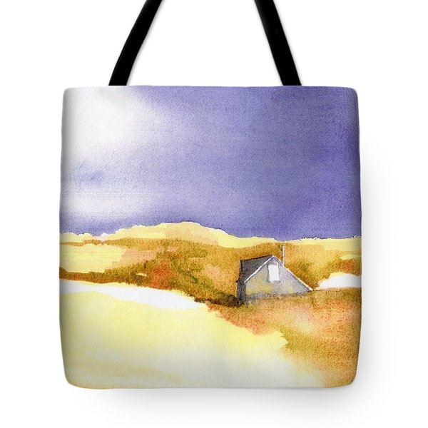Provincetown Dune Shack Tote Bag by Joseph Gallant