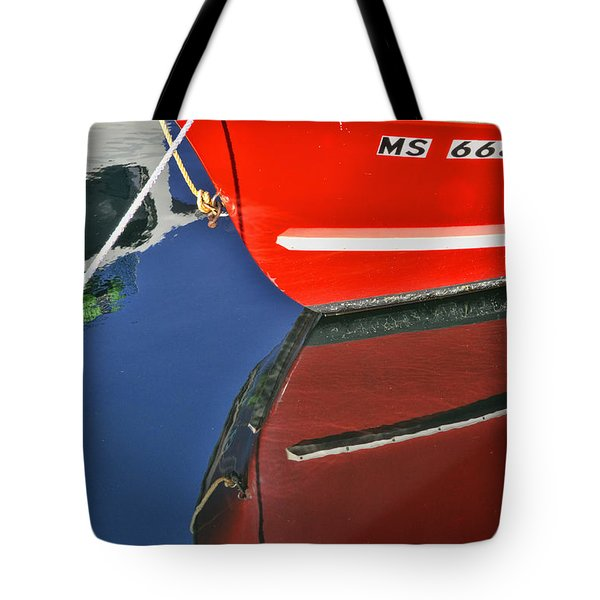 Provincetown Harbor Reflection Tote Bag by Allen Beatty