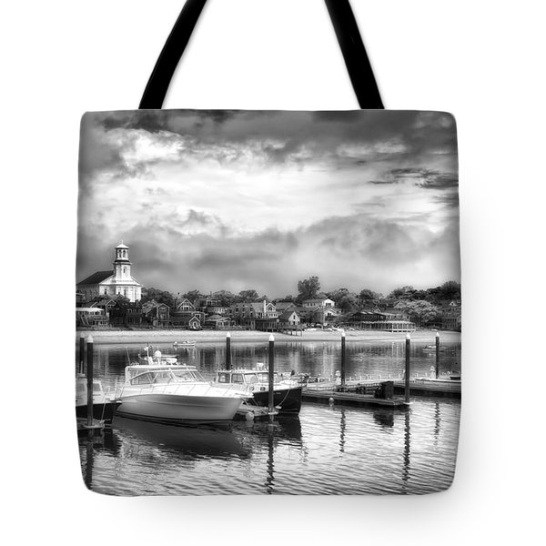 Tote Bag featuring the photograph Provincetown Harbour View II by Jack Torcello