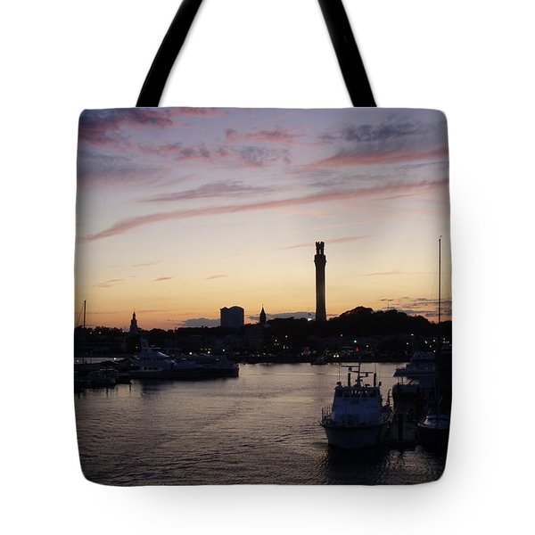 Provincetown Sunset Tote Bag
