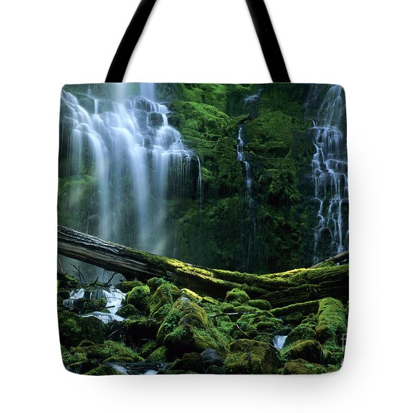 Proxy Falls Tote Bag by Bob Christopher