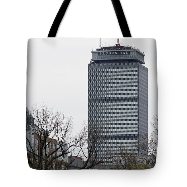 Prudential Tower Tote Bag