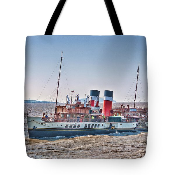Ps Waverley Approaching Penarth Tote Bag