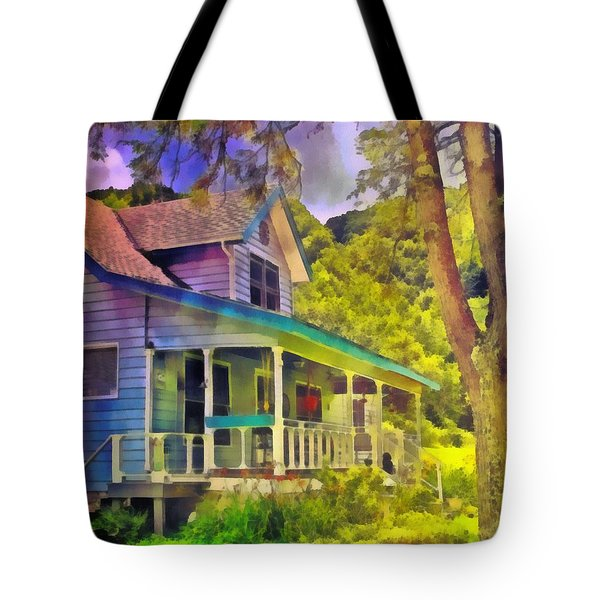 Psalm 119 56 Tote Bag by Michelle Greene Wheeler