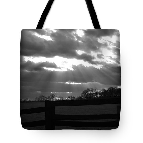 Psalm 19 1 Tote Bag by Carlee Ojeda