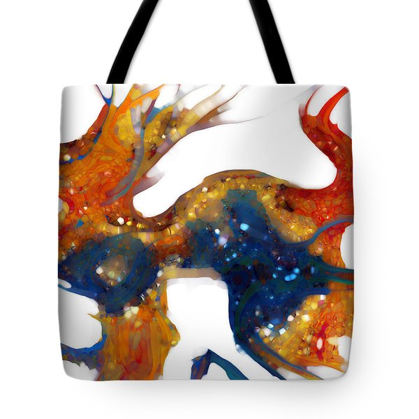 Psalm 8 1-3 God Of Wonders Tote Bag by Mark Lawrence