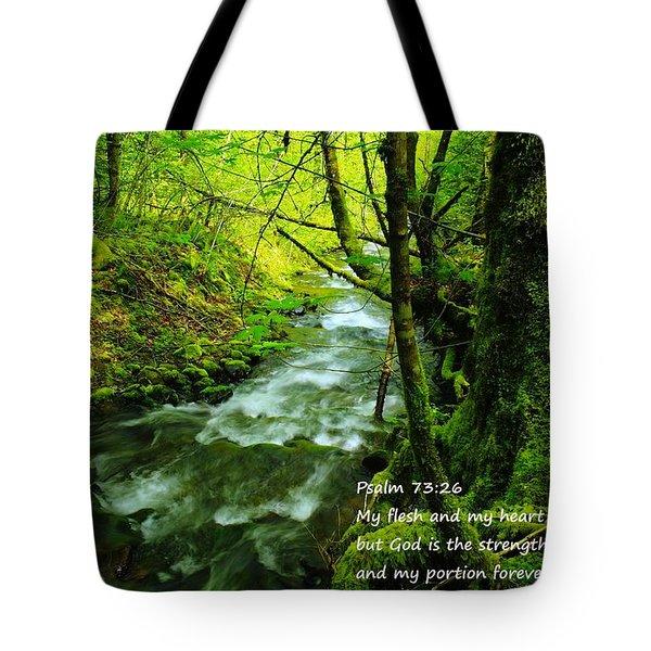 Psalms 73-26 Tote Bag
