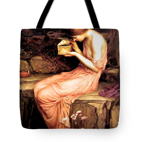 Psyche Opening The Golden Box 1903 Tote Bag
