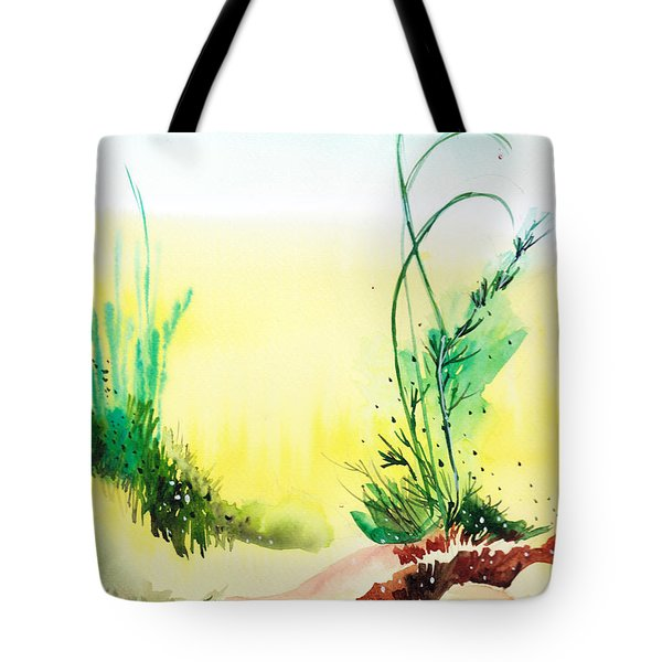 Psychedelic Tote Bag by Anil Nene