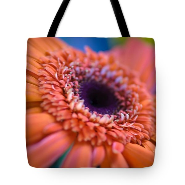 Psychedelic Tote Bag by Charles Dobbs