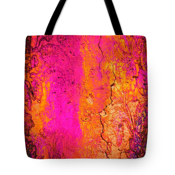 Tote Bag featuring the digital art Psychedelic Flashback - Late 1960s by Absinthe Art By Michelle LeAnn Scott