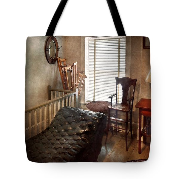 Psychiatrist - The Shrink Tote Bag by Mike Savad