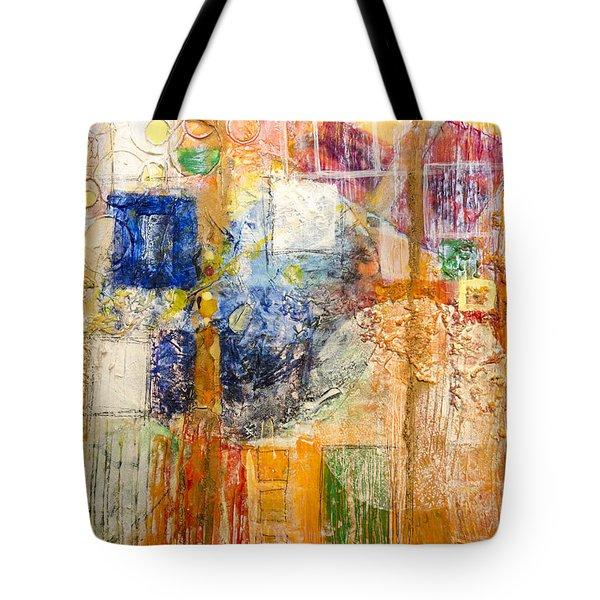 Psychogenesis Tote Bag by Ron Richard Baviello