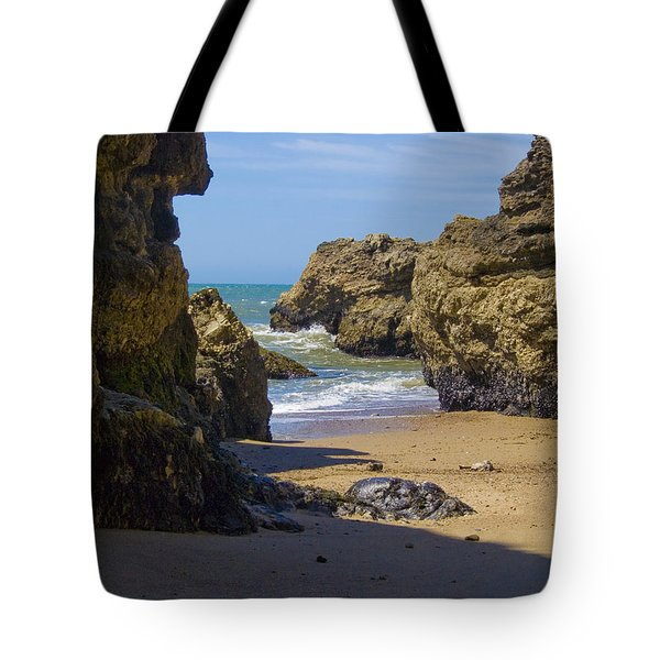Pt Reyes National Seashore Tote Bag by Bill Gallagher