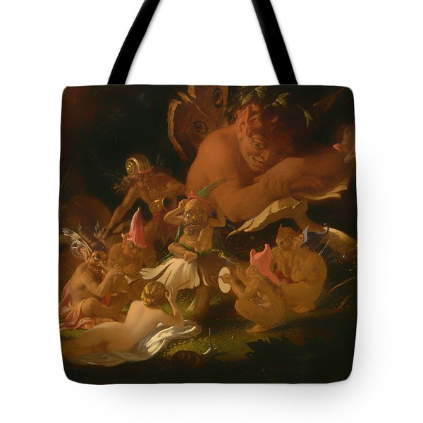615a5a339563 Puck And Fairies From A Midsummer Night s Dream Tote Bag