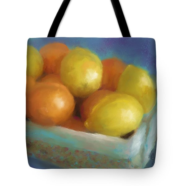 Pucker Power Tote Bag by Colleen Taylor