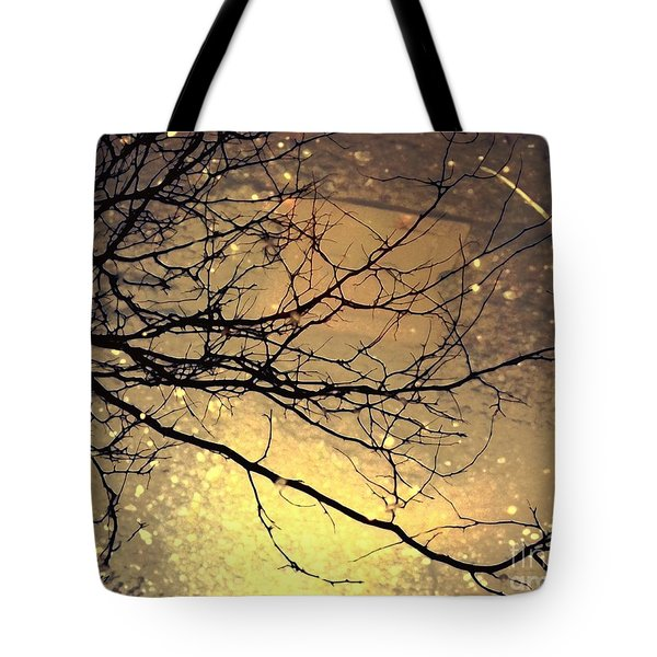 Puddle Art 3 Tote Bag