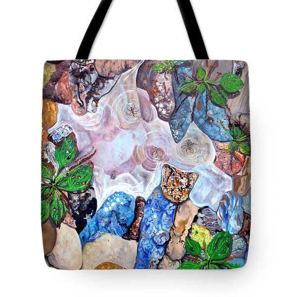 Puddle Tote Bag by Daniel Janda