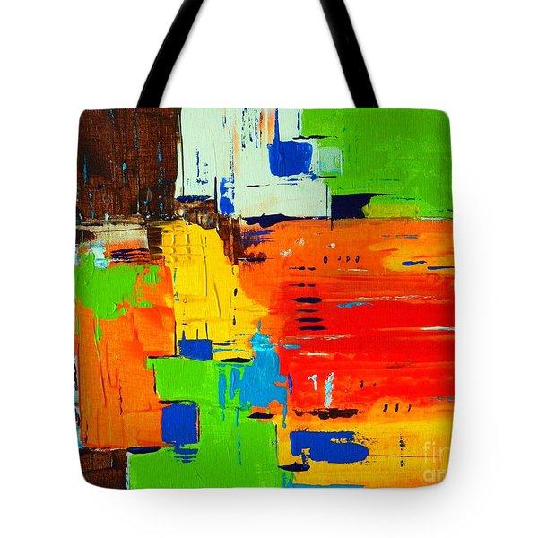 Pueblo Tote Bag by Everette McMahan jr