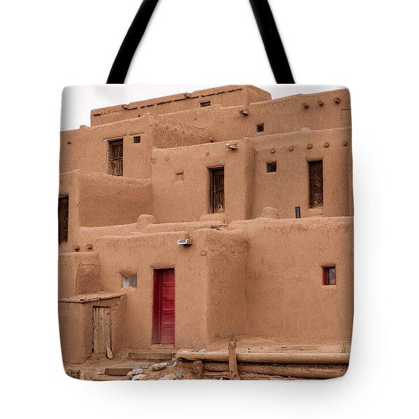 Pueblo Living Tote Bag