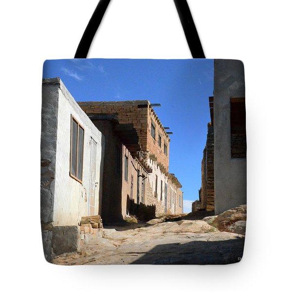 Tote Bag featuring the photograph Pueblo Pathway by Debby Pueschel