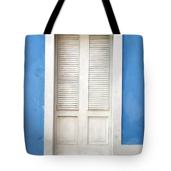 Puerta En El Viejo San Juan Tote Bag