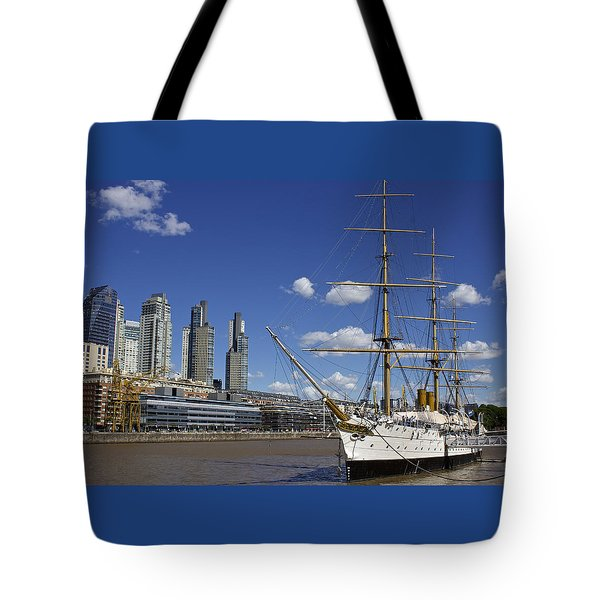 Puerto Madero Buenos Aires Tote Bag