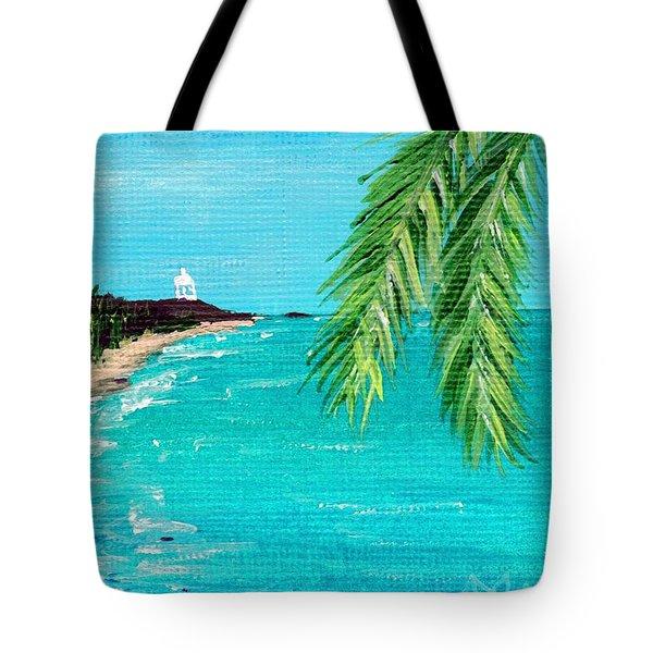Puerto Plata Beach  Tote Bag by Anastasiya Malakhova