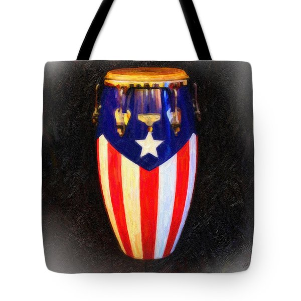 Puerto Rican Bomba Tote Bag