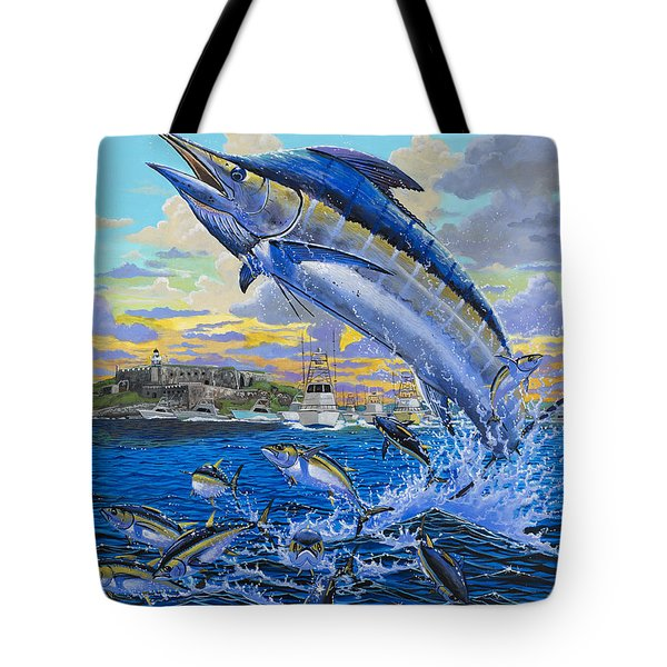 Puerto Rico Ibt 2013 Off00144 Tote Bag by Carey Chen