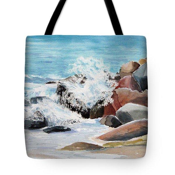 Puerto Vallarta Rocks Tote Bag