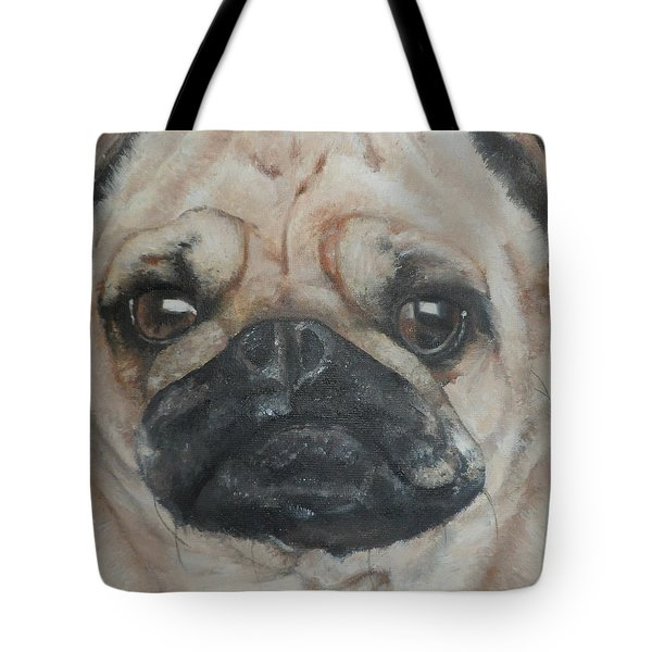 PuG Tote Bag by Cherise Foster