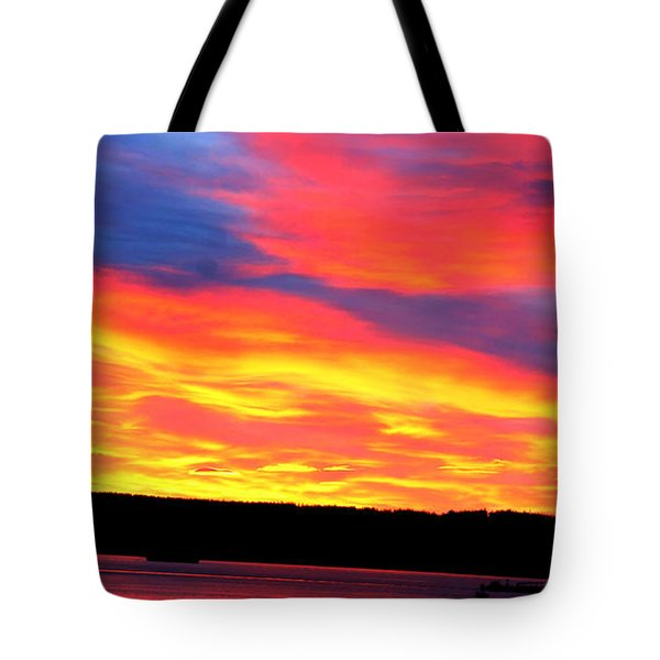 Puget Sound Colors Tote Bag