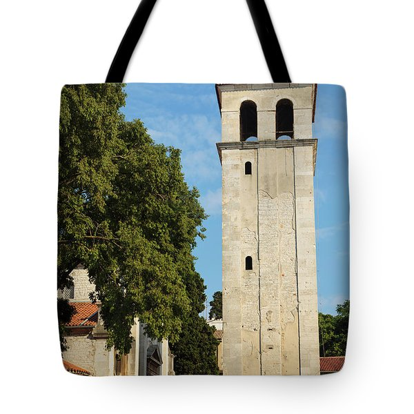 Pula, Istria County, Croatia. Cathedral Tote Bag